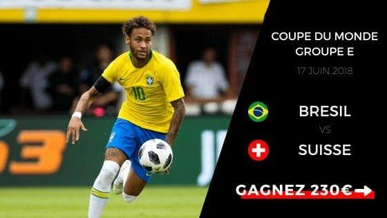 Pronostic Brésil - Suisse