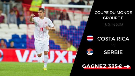 Pronostic Costa Rica Serbie