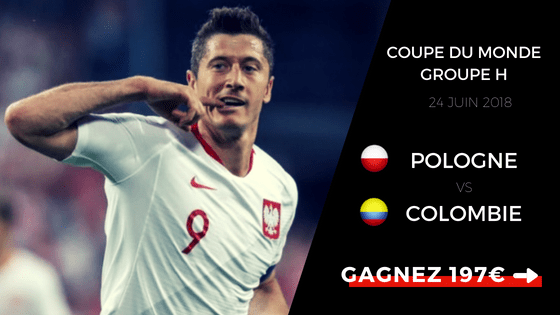 prono Pologne vs Colombie CDM2018