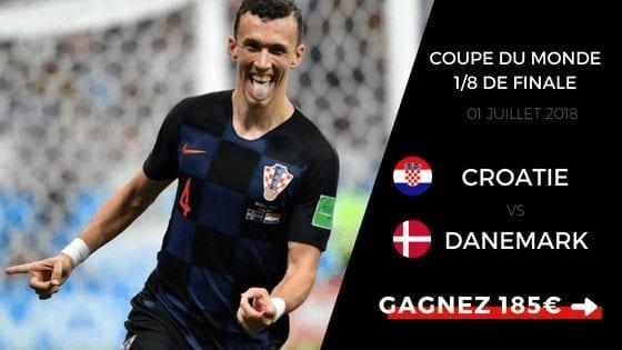 Pronostic Croatie Danemark