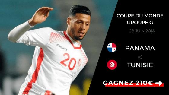 Pronostic Panama Tunisie