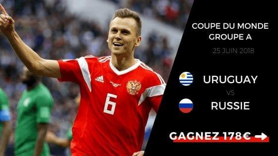 Pronostic Uruguay Russie