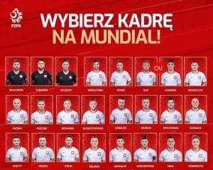 liste 23 joueurs polonais coupe du monde 2018
