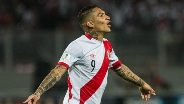 Paolo Guerrero est l'attaquant vedette du Pérou