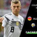 Pronostic Allemagne vs Suède - Coupe du Monde 2018