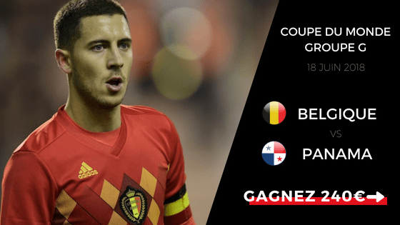 Pronostic Belgique vs Panama
