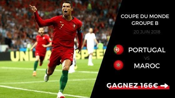 Pronostic Coupe du Monde 2018 : Portugal - Maroc