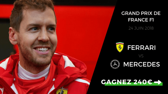 Pronostic Grand Prix de France F1 2018