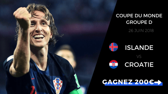 pronostic islande vs croatie cdm 2018