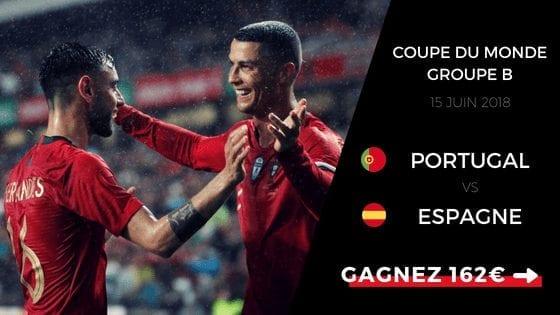 pronostic portugal espagne cdm 2018