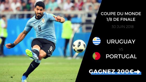 pronostic uruguay portugal cdm 2018
