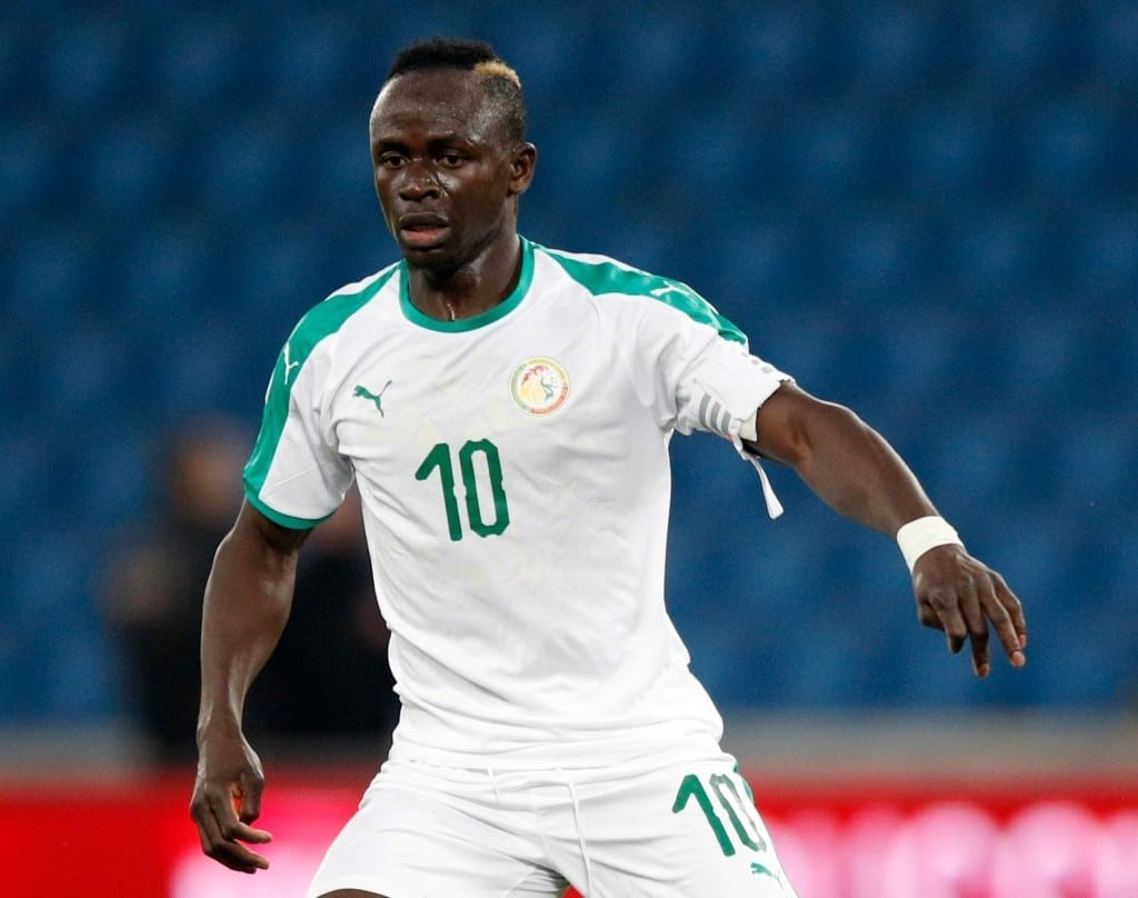 sadio mane attaquant du senegal