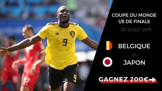 Pronostic Belgique Japon