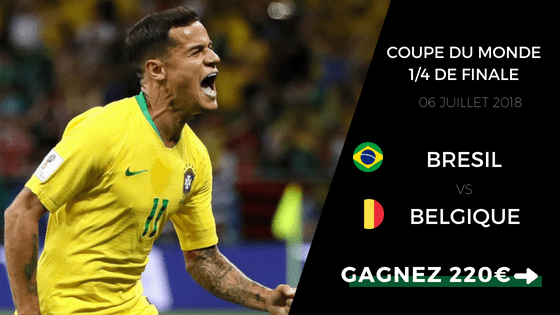Pronostic Brésil Belgique