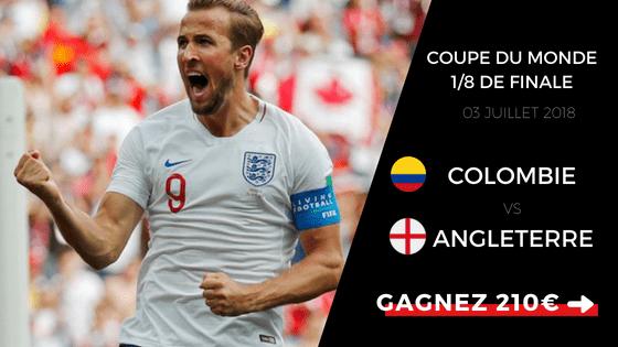 Pronostic Colombie Angleterre