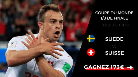Pronostic Suède Suisse