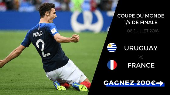 Pronostic Uruguay France