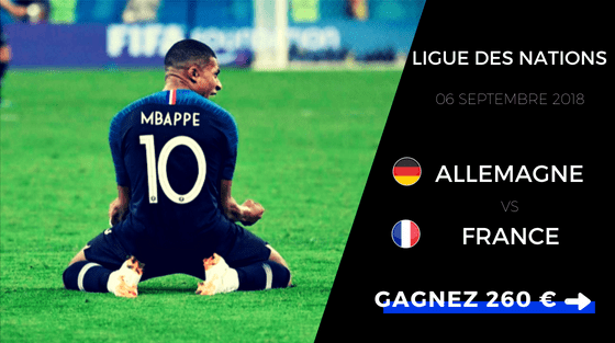 pronos nations league allemagne france 2018/2019