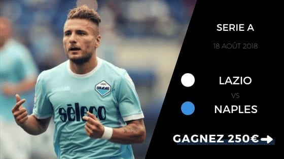 pronostic serie a lazio vs naples 2018 2019