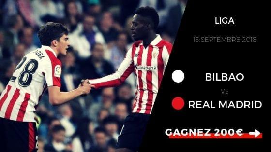 Pronostic Bilbao - Real Madrid Liga 2018 2019