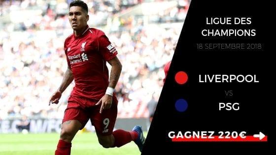 Pronostic Ligue des Champions : Liverpool - PSG