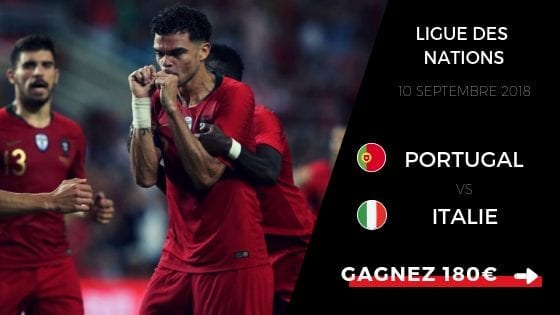 pronostic portugal vs italie ligue des nations 18 19