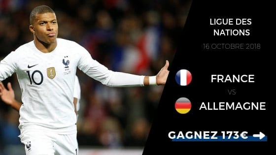 Pronostic France vs Allemagne en Ligue des Nations