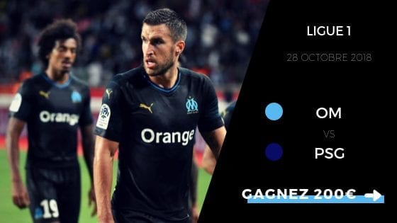 pronostic om vs psg ligue 1 2018 2019