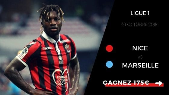pronostic nice vs om ligue1 18 19