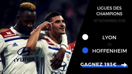 pronostic ol vs hoffenheim ldc 2018 2019