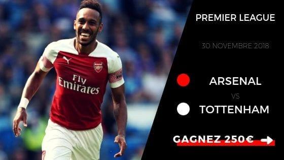 prono Arsenal Tottenham hotspur PL 2018/2019