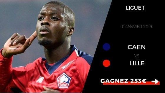Pronostic Caen Lille