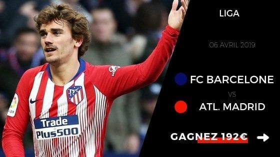 Pronostic Barcelone Atlético