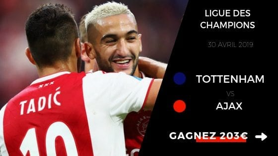 Pronostic Tottenham Ajax