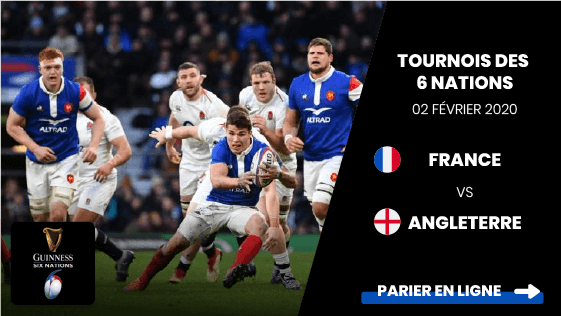 Pronostic France Angleterre Rugby 6 Nations 02 02 2020