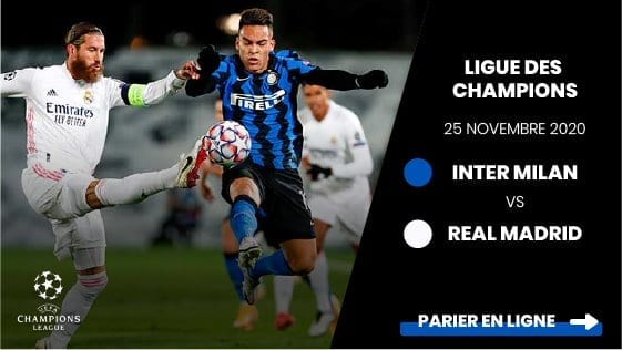 pronostic inter milan real madrid 25 novembre 2020 ligue des champions